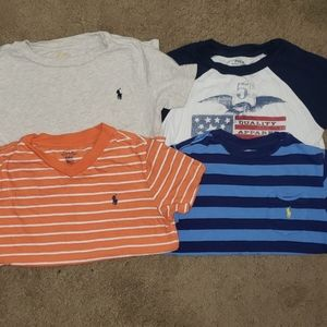 Polo Ralph Lauren lot of 5 boys shirts 5T